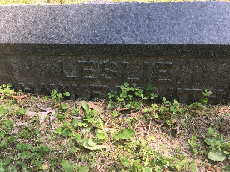 Leslie Hawley Smith gravestone
