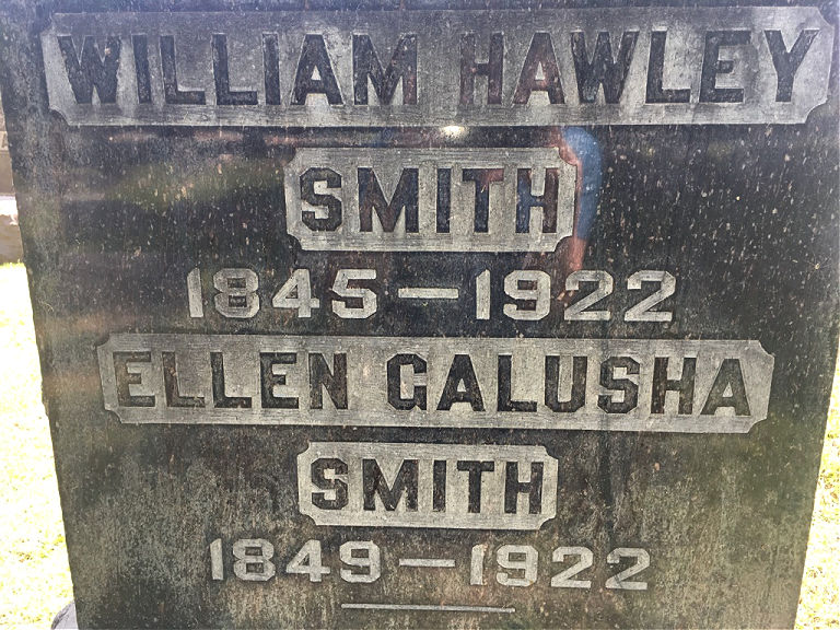 William Hawley Smith Gravestone