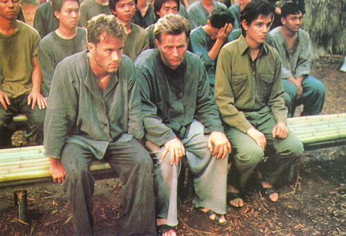 """Martin Sheen and Ralph Macchio in """"The Last P.O.W.: The Bobby Garwood Story."""""""